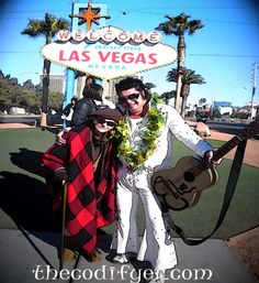Miss Penny & Elvis / Adios Las Vegas!  #travel #humor #blogging