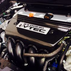 Carbon Fiber hydro dipped intake manifold cover by Voyles Performance