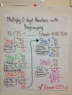 2 digit multiplication with regroupingomg