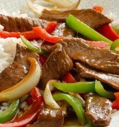 Recipe for Ginger Pepper Steak