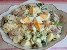 Brokolicový šalát s redkvičkami