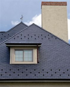 Faux Slate; EcoStar Slate roofs made from recycled rubber : symphony roofing - memphite.com