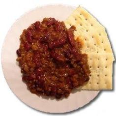 MRESTAR 8oz Vegetarian Chili Entree