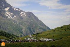 Tour de France 2015 Race Viewing tour - Col du Lautaret