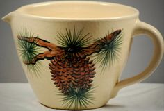 Pinecone pottery