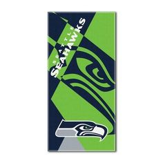 Seattle Seahawks Beach Towel 34 x 72 Beach Blanket