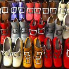 Marc Jacobs Fall 2012 shoes, OMG!!!  THESE SHOES ARE HORRiBLE. GAG! SO 80'S AND NOT IN A COOL WAY