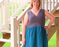 Sazerac Shift Dress PDF Sewing Pattern for Women Seamingly