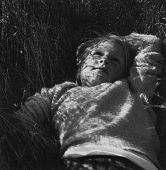 Dorothea Lange. Young Girl (from To a Cabin).