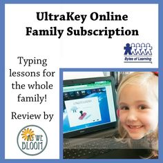 UltraKey Online Family Subscription Keyboarding Review | As We Bloom