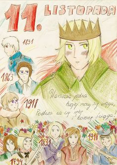 "this sentence comes from famous Polish poem by Adam Mickiewicz, ""Reduta Ordona"". It means something like ""Only Warsaw fights against your power, raises its hand and takes the crown"" - Warsaw = Poland, you = Russia Valley Girls, Warsaw Poland, Hetalia, World War Ii, Princess Zelda, Colours, Deviantart, Poem, Flags"