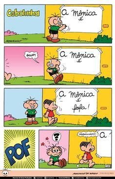 por Mauricio de Sousa -Monica