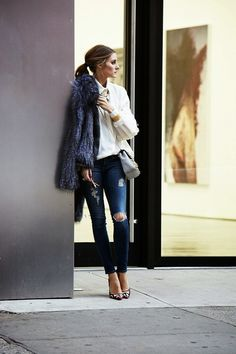 realitymissed: Even her street style is photoshoot-like - Olivia Palermo Daily