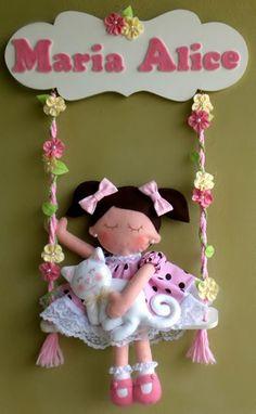 muñeca en amaca