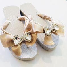6c21dc6f6f780 Bridal Flip Flops Wedges Wedding Flip Flops.Bridal Shoes.Wedding Shoes.Mother  of the Bride Shoes.Bridesmaids Flip Flops. Bridal Slippers