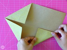 How to Fold a Letter into a Pull Tab Note   I Try DIY Origami Letter Fold, Letter Folding, I Tried, Fathers Day, Crafts For Kids, Notes, Letters, Creative, Cards