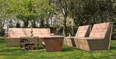 Lounge set Ferox  van Just Try Me - #tuin #meubels #lounge