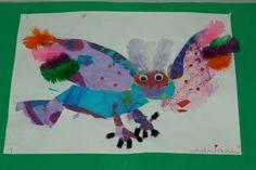 Elementary School artwork.