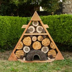 A natural habitat for mini-beasts, this item is the perfect addition for learning about the environment outside the classroom. Buy it now! Science Week, Bug Hotel, Garden Nursery, Wood Watch, Habitats, Playground, The Outsiders, Mini Beasts, Wildlife