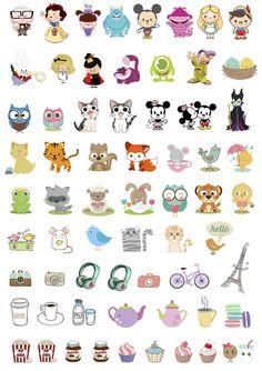 Recopilación de pegatinas imprimibles para la agenda!! http://nochedejazmin.blogspot.com.es/ ·#pegatinas #stickers #printables #imprimibles #freebies