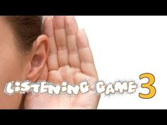 Listening Game - Phase 1 Phonics - Listening and Attention Skills Listening Games, Listening Skills, Phase 1 Phonics, Game 3, Eyfs, Youtube, Youtubers, Youtube Movies
