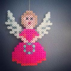 Christmas Angel hama perler beads by tamatek