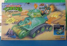TMNT Turtle Tank Teenage Mutant Ninja Turtles Turtle Tank 1991 NMC