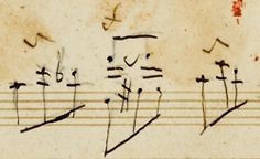Musical notation by Ludwig van Beethoven (IV)