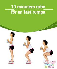 10 minuters rutin för en fast rumpa Knäböj #hjälper oss att tona #rumpan och benen och #hjälper oss att bränna fett. Vi gör denna träning i 30 dagar och #därefter ökar vi antalet repetitioner.