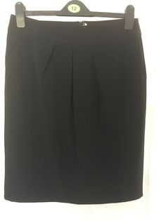 9cd55226f MARKS & SPENCER WOMENS BLACK SKIRT Size 12 Ex Condition #fashion #clothing  #shoes