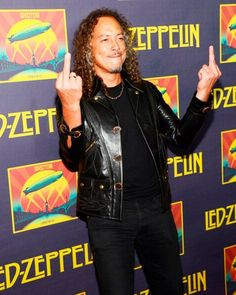metallica and kirk hammett Bild