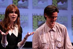 Karen Gillan & Matt Smith by Gage Skidmore, via Flickr