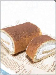 「ティラミス ロールケーキ」ちるちる   お菓子・パンのレシピや作り方【corecle*コレクル】
