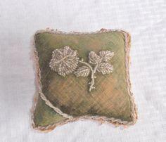 Victorian Edwardian Antique Beaded Pincushion by MyVintageHatShop, $41.00