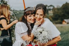 Rachel and Blaize Alternative Wedding at Pen Y Banc Farm