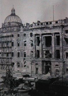 Berlin Stadtschloss; Portal II. (1945-1950) by Wolfsraum