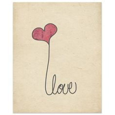"Kavka Love' by Terri Ellis Graphic Art in Tan Size: 14"" H x 11"" W x 0.01"" D"