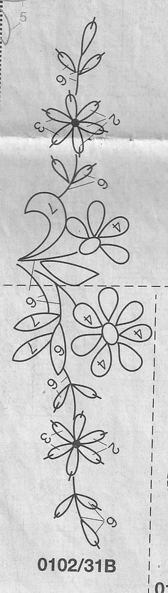 مفرش تطريز يدوي بالباترون من مجله anna magazine handmade embroidry with pattern ~ شغل ابره NEEDLE CRAFTS