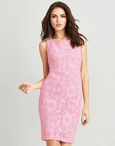 An enviable collection of women's clothing and accessories from Lipsy London. Browse beautiful styles and designs. Summer Colors, Lipsy, Pencil Dress, Pink, High Neck Dress, Clothes For Women, Formal Dresses, Macrame, Palette