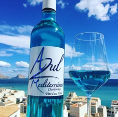 If you're a wine drinker, you may be familiar with your reds and whites, but you're probably missing out on your blues. Find out more about blue wine here! Chardonnay Wine, White Meat, Food Trends, Wine And Beer, Unique Recipes, Wine Drinks, Perfect Match, Red And White, Cool Stuff