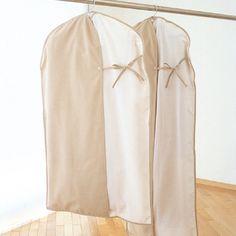 WORTHY WORK PLUS/ウェアカバーSサイズ 1050yen 友達に見せたくなる、ファブリックの洋服カバー