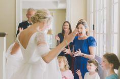 Wedding Day Inspiration | Kleinfeld Real Bride | Reem Acra wedding dress | Photography by Tara McMullen