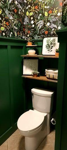 Vestibule, Valspar, Bathroom Wallpaper, Rifle Paper Co, Florida Home, Powder Room, Wilderness, Toilet, Bathrooms