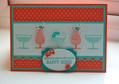 Julie's Japes - A Top Independent Stampin' Up! Demonstrator in the UK: More Happy Hours!