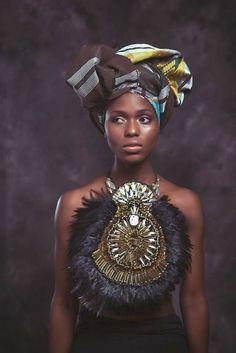 African Prints in Fashion: Breathtaking: Anita Quansah London SS14