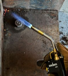 DIY Skills: How to Loosen a Stuck Bolt With A Blowtorch   Man Made DIY     Crafts for Men   Keywords: blowtorch, sponsored, diy, how-to