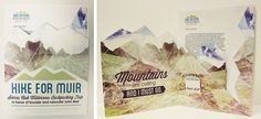Hike for Muir Stationery System by Lisa Davis