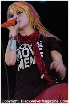 PARAMORE – DOWNLOAD FESTIVAL, DONINGTON PARK, 08 JUNE 2007