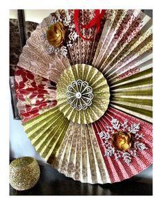 Christmas rosette
