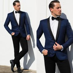 the new style by the man in blue and white & black color